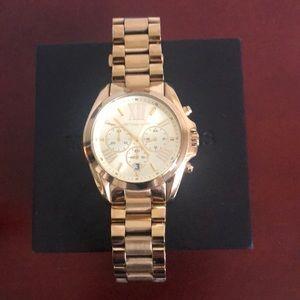 Michael Kors all gold oversized women's watch